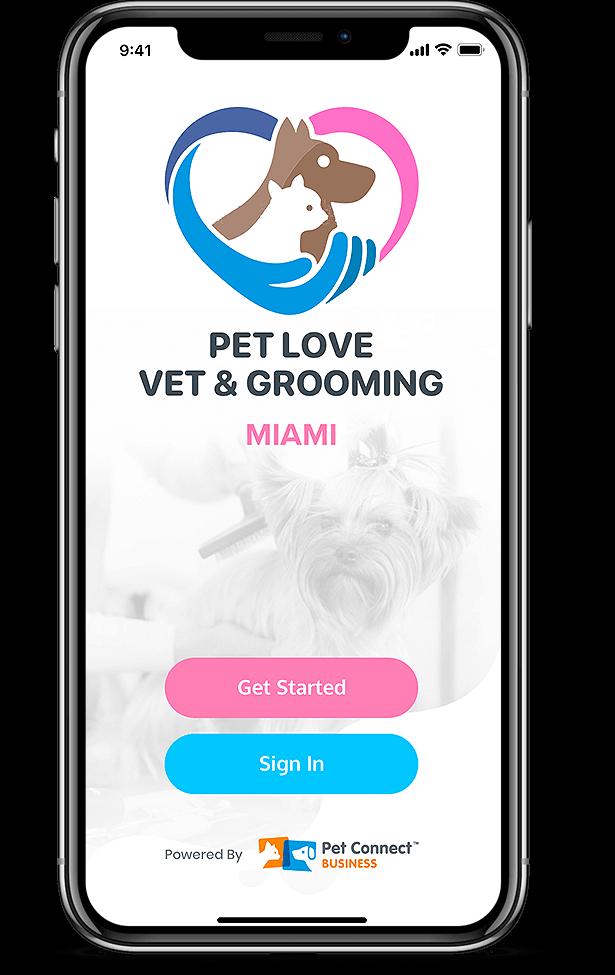 Pet Services management hub Miami mobile view